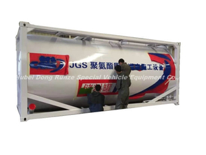 20FT Acrylic Acid ISO Tank for Storage Road Transport Propenoic Acid (Formula C3H4O2; Molecular CH2CHCOOH)