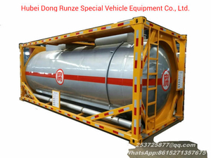 20FT Stainless Steel Yellow Phosphorus Tank Container with Heating Insulated System