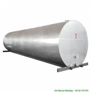 Steel Asphalt Storage Tank with Diesel Oil Burners Heating for Mini Asphalt Plant