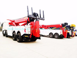 Recovery Trucks Beiben V3 Heavy Duty 50t Tow Rotator Road Wrecker