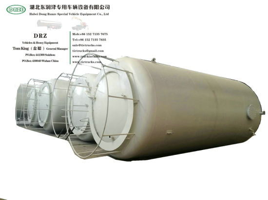 100 Cbm Vertical Storage Tank for HCl Acid 20000USG-30000USG (Steel Lined LDPE 16mm-22mm Hydrochloric Acid, Sulphuric Acid, Hydrofluoric Acid)