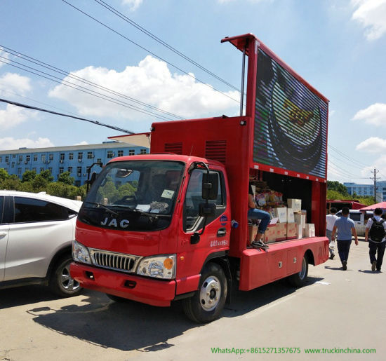 JAC / Jmc LED Truck with LED Billboard and Sound System