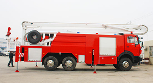 Beiben Water 6X4 18m Elevating Platform Fire Truck Sale