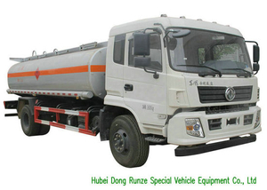 King Run Mobile Fuel Bowser Trucks LHD / Rhd 4X4 All Wheel Drive