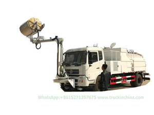 Kingrun Tunnel Cleaning Vehicle Multi-Function Cleaning with High Pressure Washing System