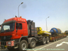 Heavy Hauler Hydraulic Multi Axles Lowbed Trailer
