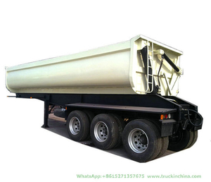 Customizing 22cbm 3 Axle Side Tipper Trailer (BPW Axles U-shape)