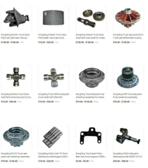 Dongfeng Truck Parts (Truck Axles, Gear Differential, Reducer Housing, Wheel Hub