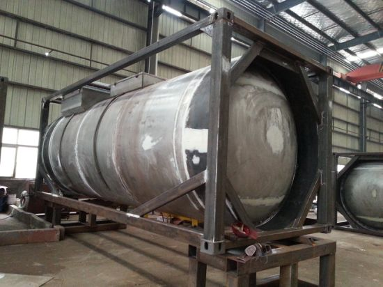 Phosphoric Acid 85% H3po4 ISO Tank Container Steel Lined PE Tank 20FT, 40FT