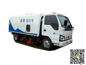 Isuzu Truck Road Sweeper (Vacuum road sweeper cleaner Truck, Sweeping Car)