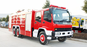 Fvz 6X4 Isuzu Water Foam 9+2.65 Fire Fighting Truck 12000liter