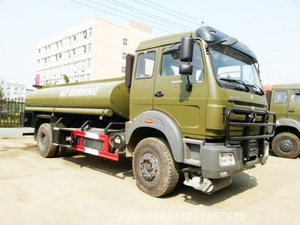 Beiben 1629 off Road Tanker 8000L 4X4 Military Truck for Sale