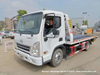 Hyundai 6t Flatbed Car Carrier Road Recovery Tow Truck (4 ton winch 5m Tilt Deck Tray Light Duty Wrecker)