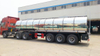 3axles Stainless Steel Emulsion Tank Semi Trailer Insulated Cladding Stainless Steel 27.3cbm for Road (Tanker) Tansport Un2426 Ammonium Nitrate (NH4NO3)