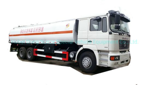 Shacnman Road Tanker Truck with Insulation Layer for Heat Bitumen, Liquid Asphalt, Coal Tar Oil, Crude Oil Transport 24, 000L-28, 000liters 12wheels