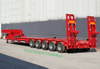 Customizing Multi Axle Steering Axle Low Bed Trailer (Hydraulic Low Loader Semi Trailer For Cylinder Tank Goods Tanker)
