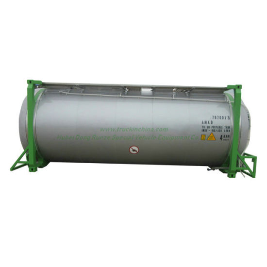 Food Grade Stainless Steel 316L Swapbody Isotank Customized Tank 33cbm Vegetable Oils Imo 1 / Imo 4 Swap Frame (30.000, 35.000 liter)
