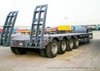 4 Axles Heavy Duty Lowboy (Low Bed) Trailer (Flatbed 11M -16M) 100ton