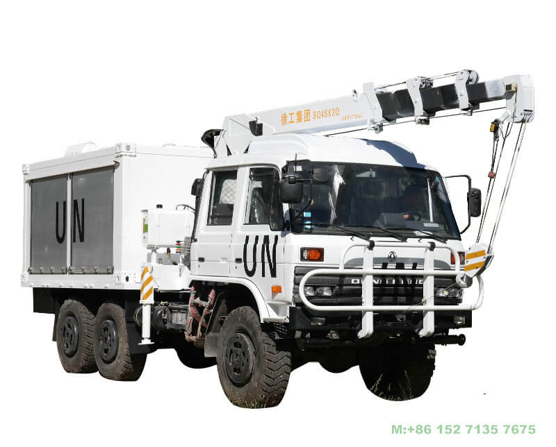 Dongfeng 6x6 Offroad Mobile Power Engineering Maintenance Vehicle