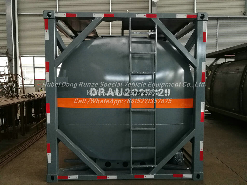 ISO 20ft Hydrochloric acid-13000L- Tank Container Lined PE