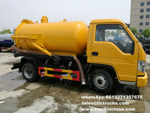 Forton Forland 3000 liter Capacity Sewage Vacuum Suction tank Truck RHD /LHD