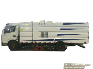 Yuchai 140HP road Sweeping Truck Dust 4500L&1000L Water