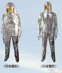 Fire Prevent Garment Fire Suit with Fire Insulated Gloves