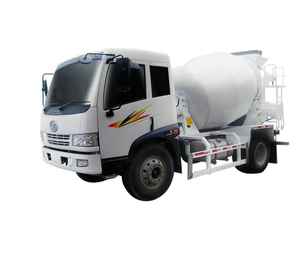 FAW RHD Concrete Mixer Truck Mini Drum Capacity 3 - 7CBM