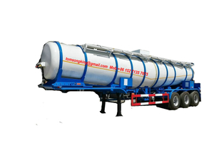 DRZ9402GFW Acid Tanker V Shape 22000Liters