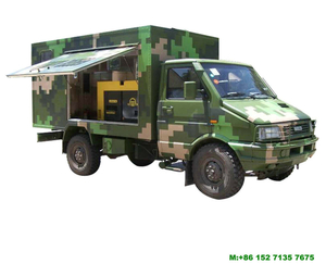 IVECO Mobile Generator Vehicle Offroad 4x4 Customizing
