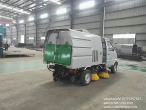 Changan Mini Vacuum Sweeper Truck