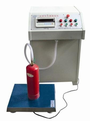 Fire Extinguisher Water Type Extinguisher Filling Machine , Fire Extinguisher Clamper (pneumatic)
