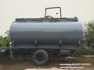 Hydrochloric acid Tank body Carbon steel inner lined 16mm PE 15000L round shape