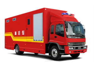 Isuzu Logistics Bath Showers Vehicle Customizing