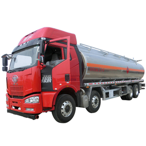 FAW Aluminum Road Tanker For Fuel Transportation 30000L (8000 Gallons)