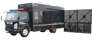 ISUZU Anti Riot Mobile Police Barrier Spreading Vehicle Customizing