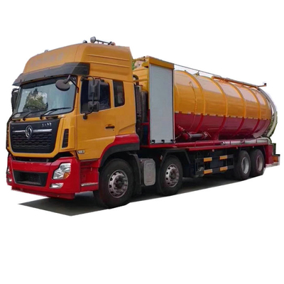 DRZ high pressure jetting combined vacuum tanker - 18000Liters +2000Liters